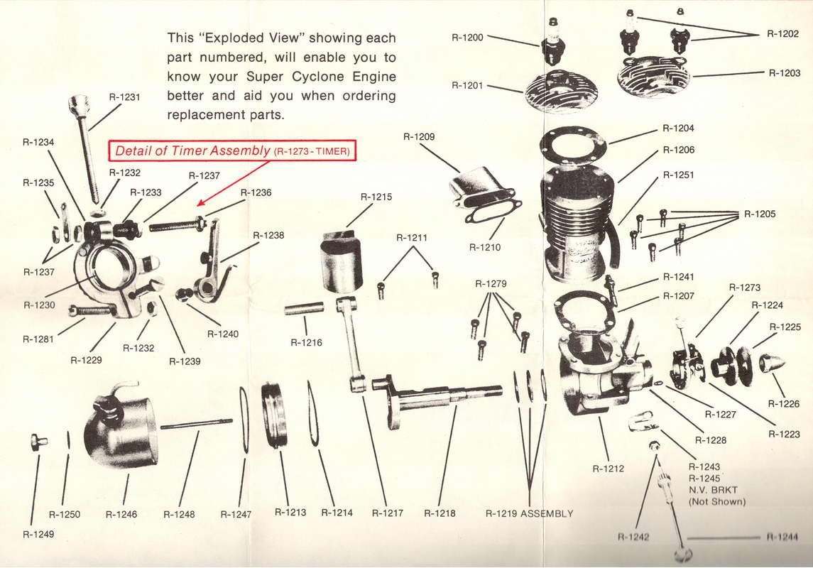 "This page reprinted from ""Model Engine Designer and Manufacturing Profiles""  by permission of the author, Mr David R. Janson."