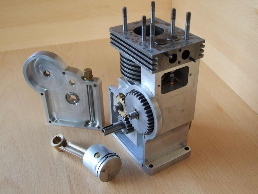 homemade 4 cylinder engine  homemade  free engine image